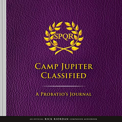 Camp Jupiter Classified Audiobook By Rick Riordan cover art Audio Book